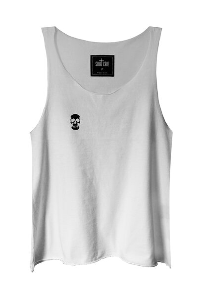 Regata branca Skull