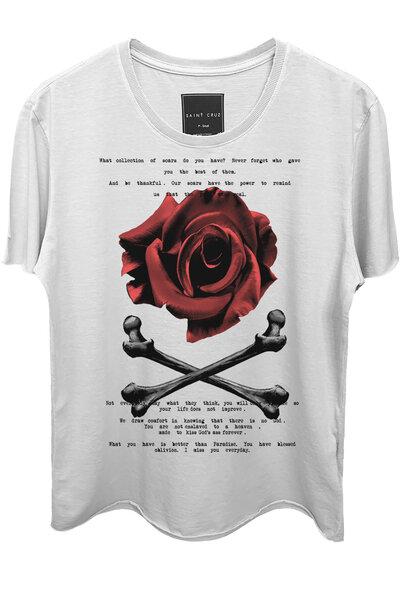 Camiseta branca Spirit