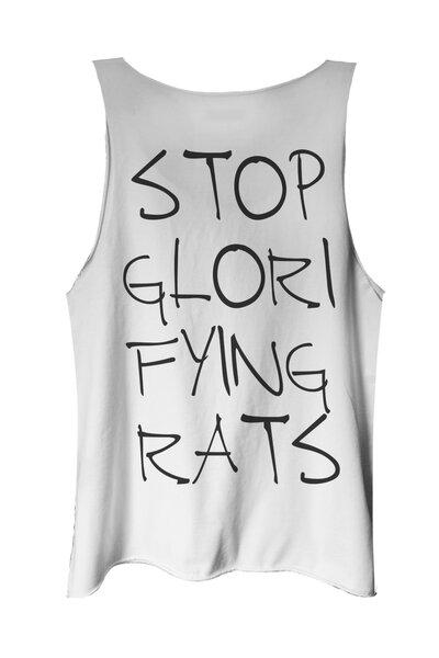 Regata branca Rats