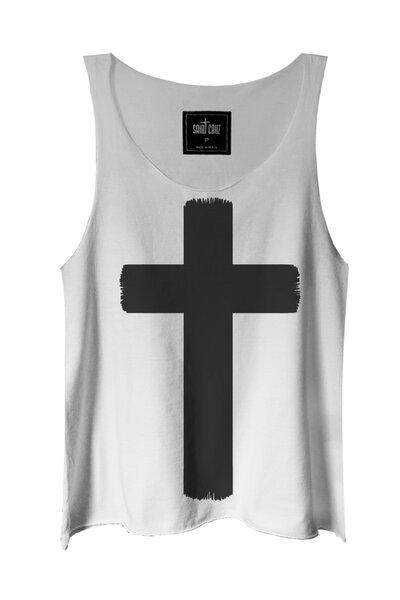 Regata branca Crucifix