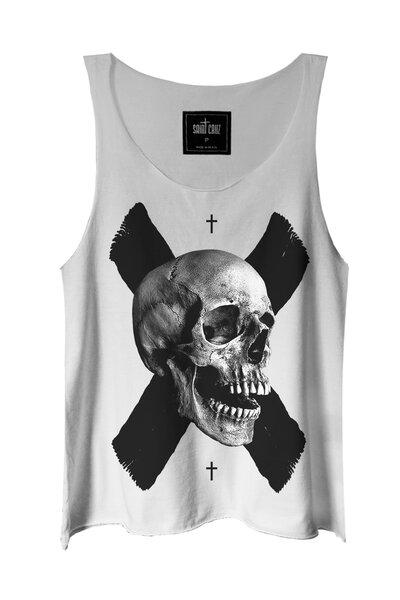 Regata branca X Skull