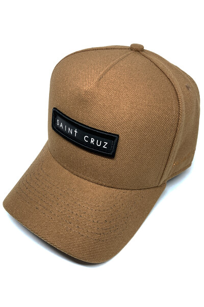 Boné Trucker Saint Cruz (Caramelo)