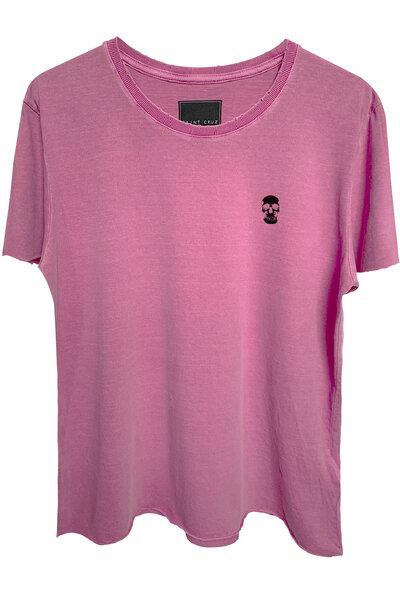 Camiseta estonada vinho Skull