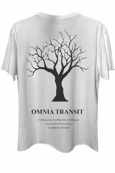 Camiseta com bolso branca Omnia Transit
