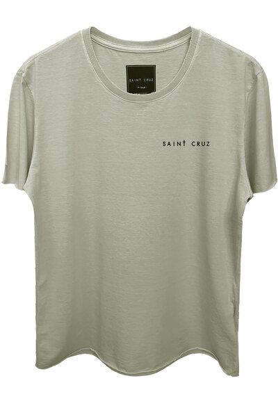Camiseta estonada cinza clara Rats