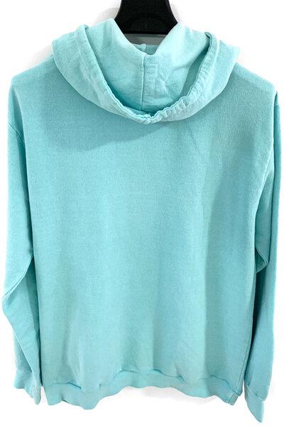 Blusa de moletom estonado azul Dreams (Front)