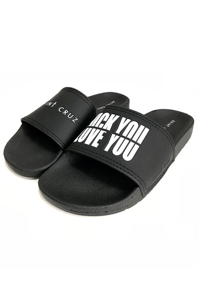 Chinelo slide Love You (Preto)