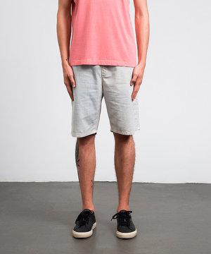 Shorts Elástico Casual Areia