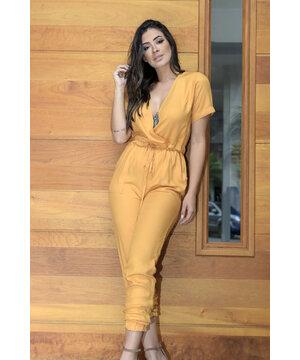 Macacão Amarelo Carolina