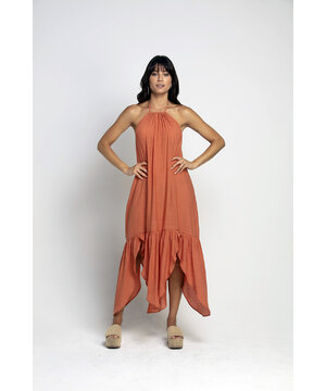 Vestido Assimétrico Guaraná Laura