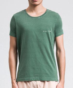 Camiseta Básica Estonada Militar