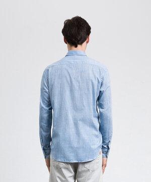 Camisa Rústica Azul