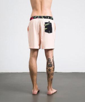 Swim Shorts Orange