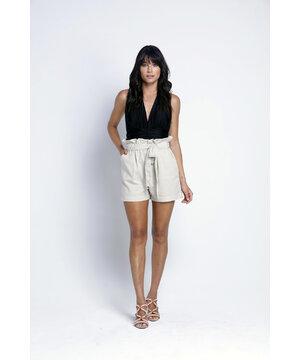 Shorts Eco Clouchard Natural Nathalia