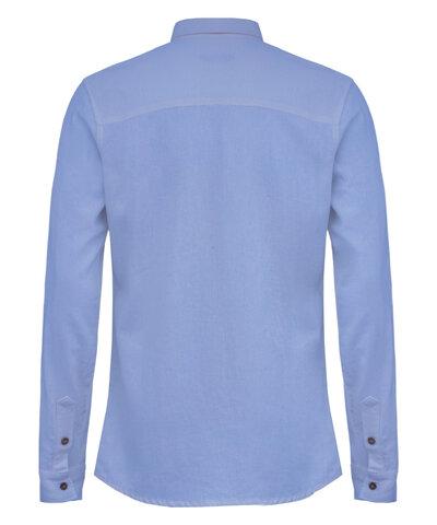 Camisa Linho Azul Claro