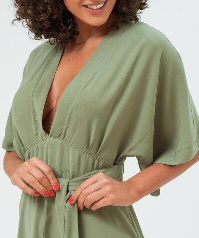 Vestido Kimono Verde Mariana