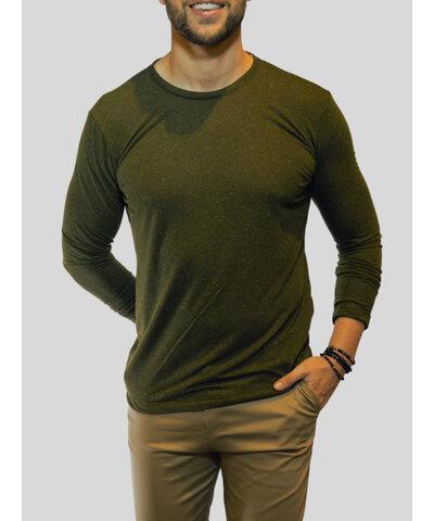 Camiseta Manga Longa Rus Verde
