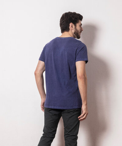 Camiseta Básica Estonada Sky