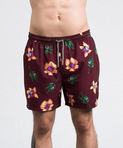 Swim Shorts Button