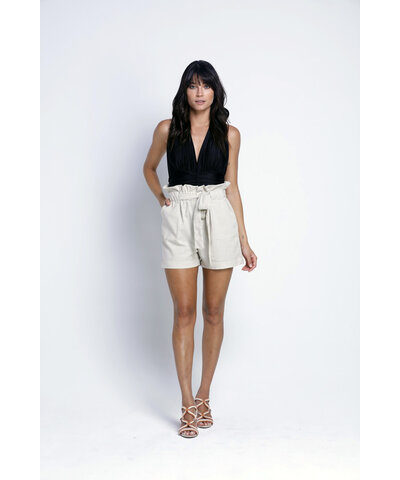 Shorts Eco Clouchard Natural Nathalia