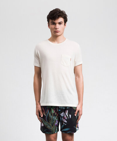Camiseta Pocket Rus Areia
