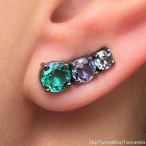 Ear Cuff 3 REDS