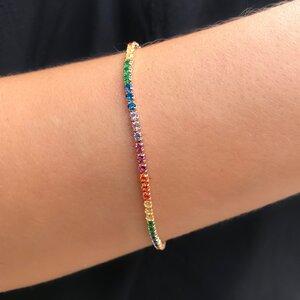Pulseira Riviera Rainbow