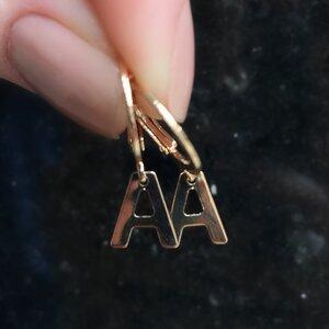 Argola Mini Letras