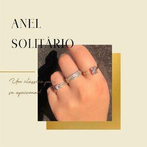 Anel Solitário: Um Clássico para se apaixonar!