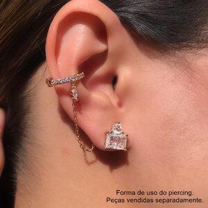 Piercing com corrente - UNIDADE