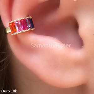 Piercing Carre Rainbow