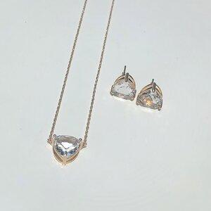 Conjunto Triângulo Cápsula Cristal