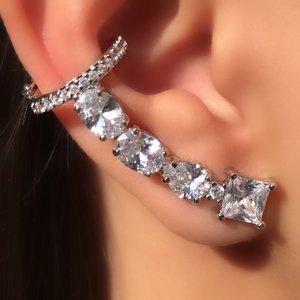 Ear Cuff Inspire Formas & Piercing Pressão - RÓDIO