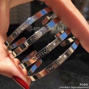 Bracelete Palavras