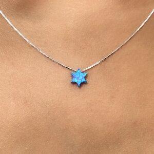 Colar Estrela Opala