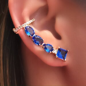 Ear Cuff Inspire Formas & Piercing Pressão