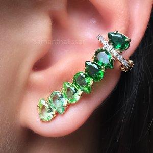 Ear Cuff Gotinhas Invertidas