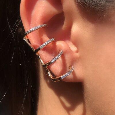 Brinco Ear Cuff Charm
