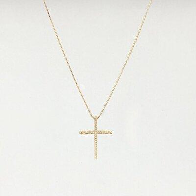 Colar Crucifixo Palito Mini