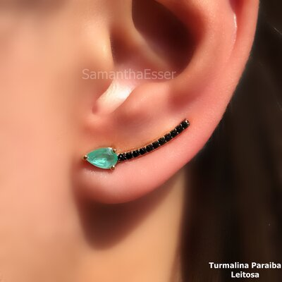 Ear Cuff Palito Gotinha
