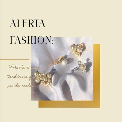 Alerta Fashion: Pérola é uma tendência que nunca sai de moda