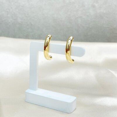 Brinco Ear Hook Tubo Liso
