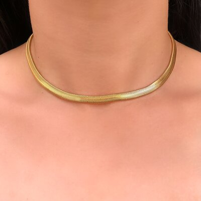 Choker Diamantada Medium