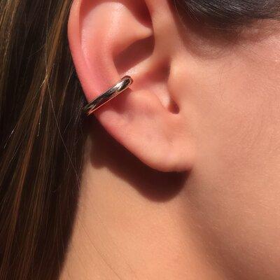 Brinco Ear Hook Liso P - UNIDADE