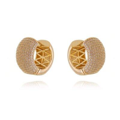 Brinco de Argola Supreme Gold Luxo