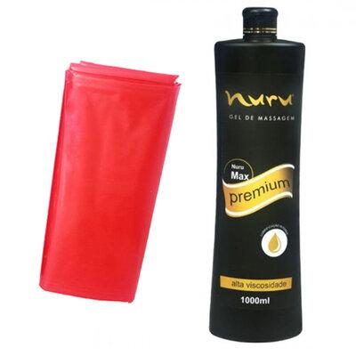 Gel de Massagem Nuru Max Premium 1000ml