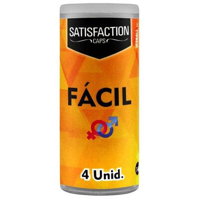 Bolinha Funcional Satisfaction Fácil Unissex - 4 Unidades