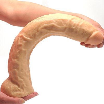 Pênis Gigante Intruder Pele 38 cm x 6 cm