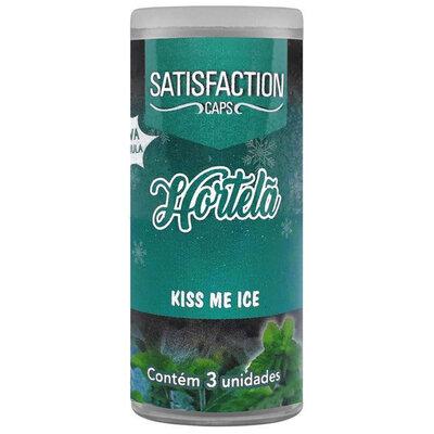 Bolinhas Funcionais Beijáveis - Satisfaction Kiss Me 3 unidades