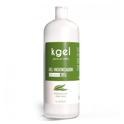 Álcool em Gel 70% Higienizador com Aloe Vera 1 litro